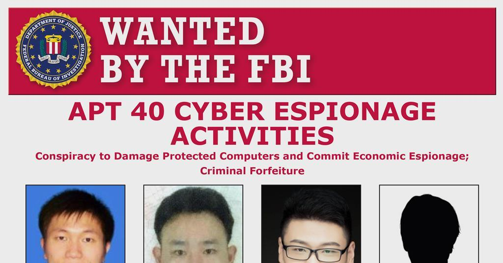US grand jury indicts Chinese nationals for cyber-theft of research IP