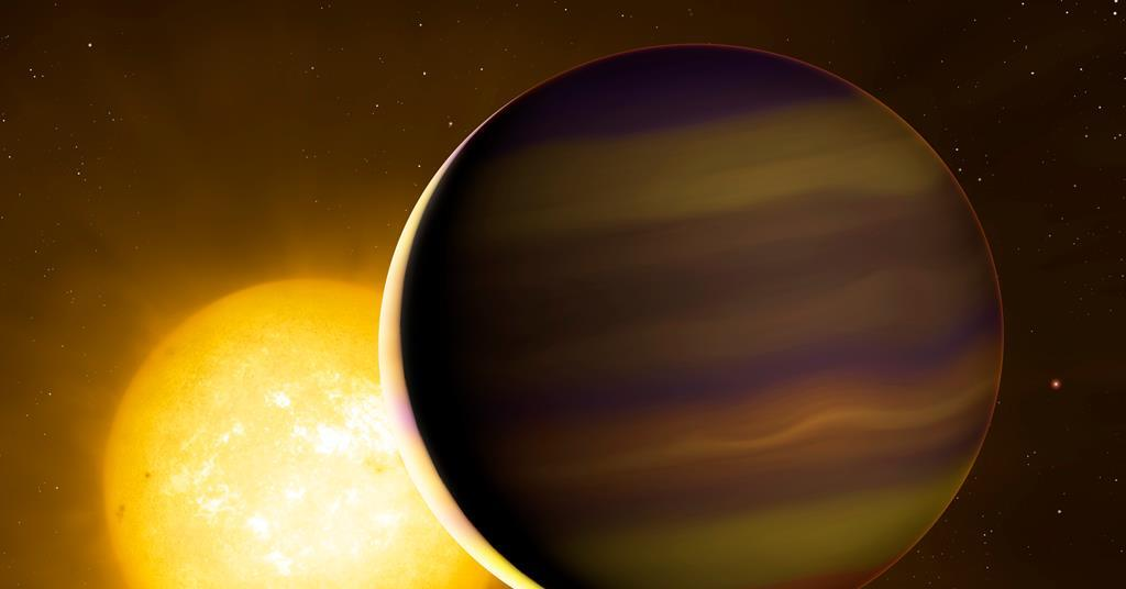 Exoplanet's chemical fingerprint suggest a distant birthplace