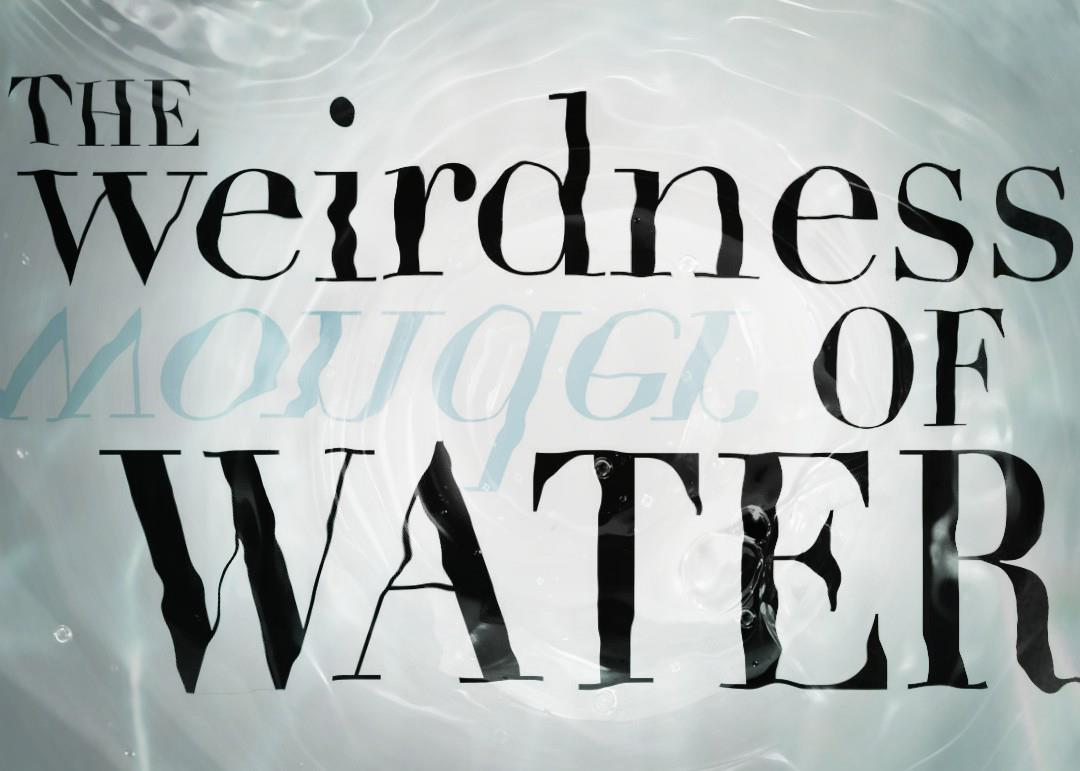 The weirdness of water
