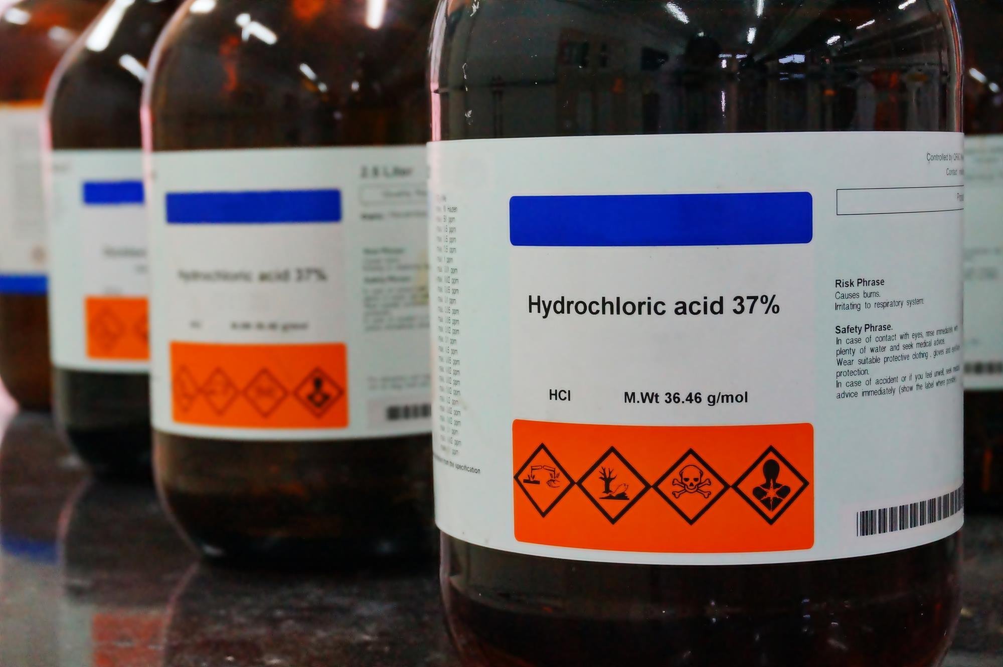 Hydrochloric acid | Podcast | Chemistry World