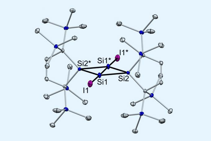 New silicon–silicon bond is a rare example of a π bond without a σ bond