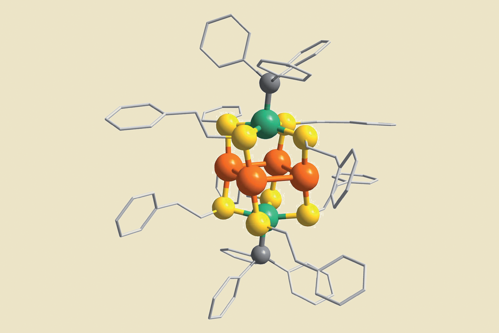Light-harvesting clusters and titanium dioxide cooperate to fix nitrogen