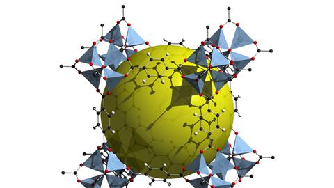 Image result for Metal-organic Frameworks (MOF)