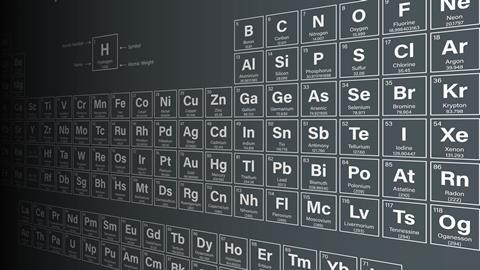 2019 to be the international year of the periodic table