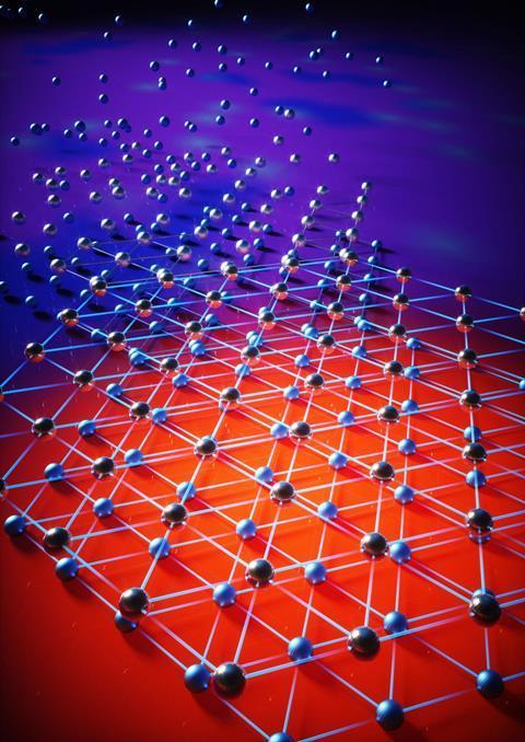 Elektron sıvısından çift katmanlı Wigner kristaline kuantum faz geçişinin şeması