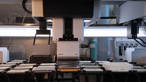 An image showing the high throughput system