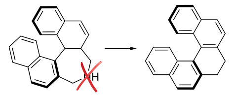 A picture showing an exemplary nitrogen deletion reaction