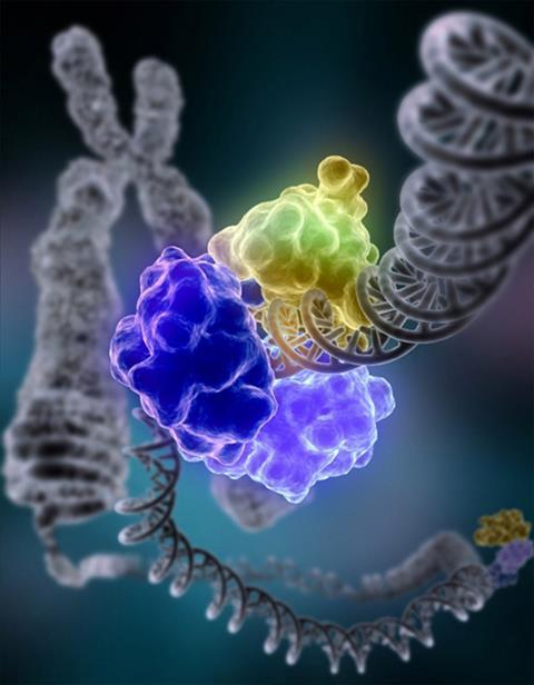 DNA repair illustration