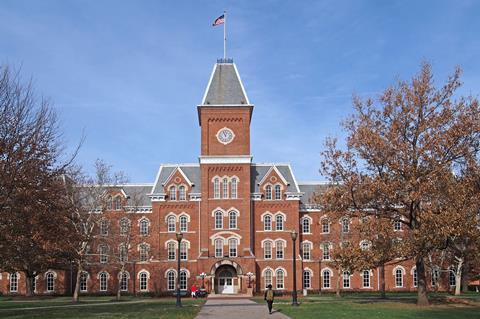 A picture showing Ohio State University