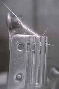 Safety Spark Laboratory Lighter with 5 flints
