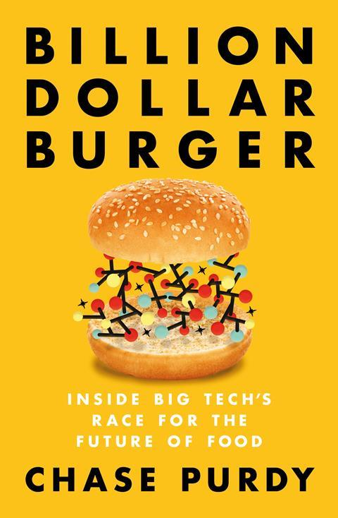 An image showing the book cover of Billion dollar burger