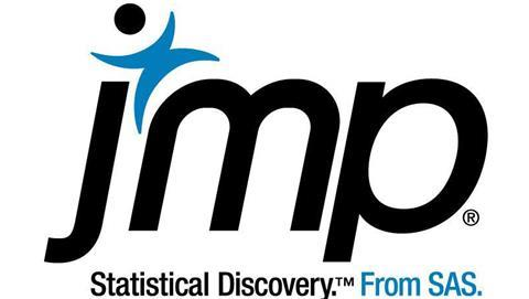 JMP company logo with white space