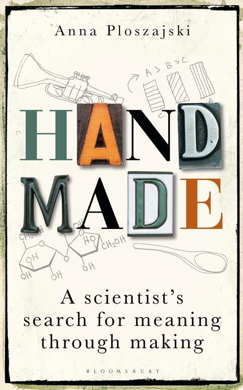 An image showing the book cover made by Handmade