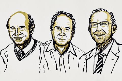 An image showing the 2020 Medicine Nobel prize laureates