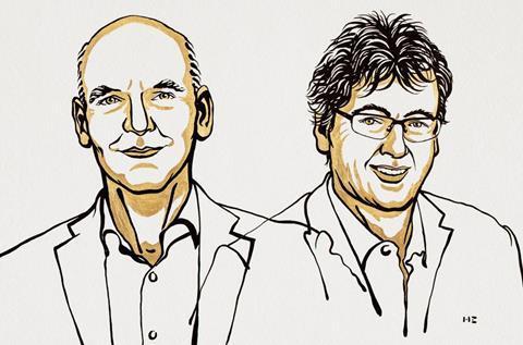 تصویری که برندگان جایزه نوبل شیمی 2021 را نشان می دهد