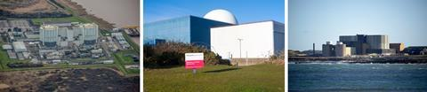 تصویری که نیروگاه های هسته ای را نشان می دهد