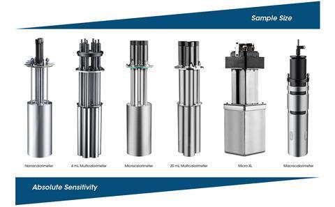 Waters TAM IV family of microcalorimeters