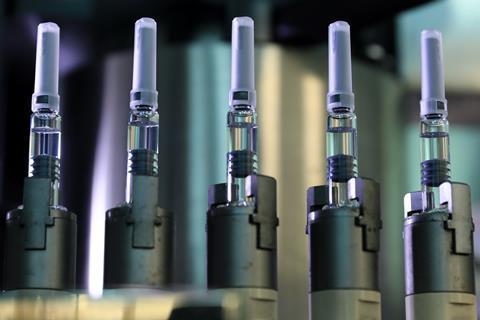 Gambar yang menunjukkan pembuatan vaksin